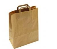 TORBA papierowa 22*10*30MAT 90g/m2 papier niegładzony mała, Materiały opakowaniowe, Artykuły dekoracyjne