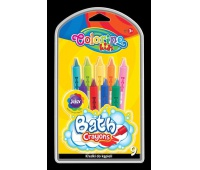 Kredki do kąpieli 9 kol Colorino Kids, Plastyka, Artykuły szkolne