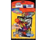 Magiczna książeczka / Kolorowe Witraże / display Colorino Kids, Malowanki, Zabawki