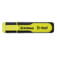 Highlighter DONAU D-Text, 1-5mm (line), yellow