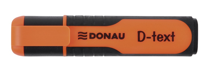 Highlighter DONAU D-Text, 1-5mm (line), orange