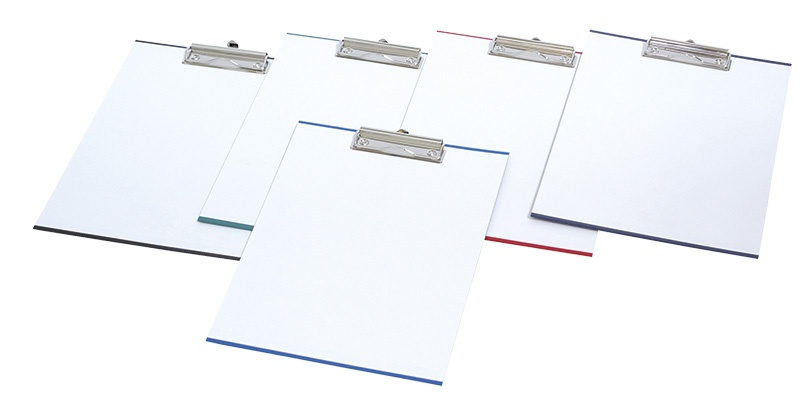 Clipboard DONAU Board, with a clip, PP, A4, assorted colours