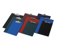 Clipboard DONAU Board, PVC, A4, with a clip, assorted colours