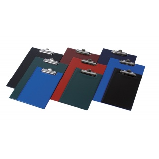 Clipboard DONAU deska, PVC, A4, z klipsem, mix kolorów, Clipboardy, Archiwizacja dokumentów