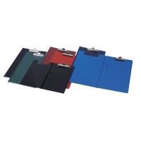 Clipboard DONAU teczka, PVC, A5, z klipsem, mix kolorów, Clipboardy, Archiwizacja dokumentów