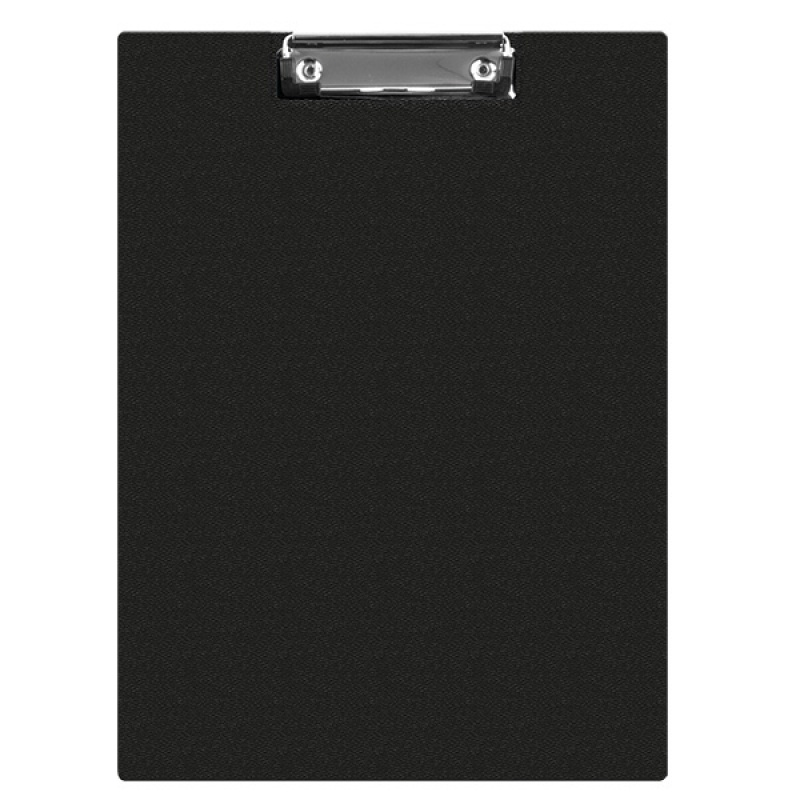 Clipboard DONAU File, PP, A4, with a clip, black