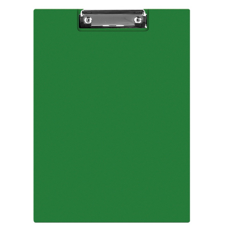 Clipboard DONAU File, PP, A4, with a clip, green