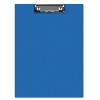 Clipboard DONAU File, PP, A4, with a clip, blue