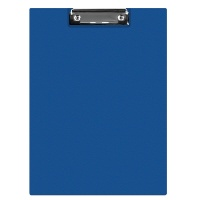 Clipboard DONAU File, PP, A4, with a clip, navy blue