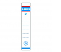 Self-adhesive Labels for DONAUBinders, 33x153mm, unilateral, 20pcs