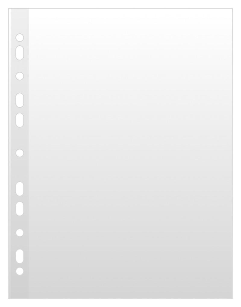 Koszulki na dokumenty DONAU, PP, A4, krystal, 50mikr., 100szt., Koszulki i obwoluty, Archiwizacja dokumentów