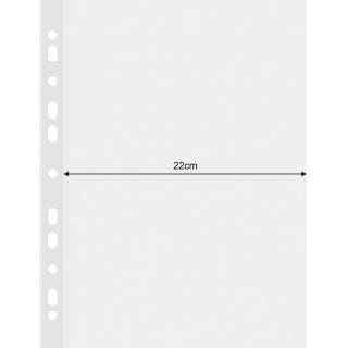Koszulki na dokumenty DONAU, PP, A4, krystal, 120mikr., Koszulki i obwoluty, Archiwizacja dokumentów