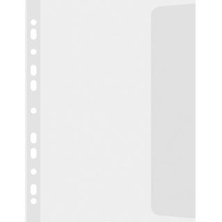 Koszulki z klapką DONAU, PP, B4, groszkowe, 100mikr., 10szt., Koszulki i obwoluty, Archiwizacja dokumentów