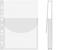 Koszulki na katalogi DONAU, PP, A4, krystal, 170mikr., Koszulki i obwoluty, Archiwizacja dokumentów