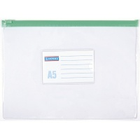 Zip Bag DONAU, PVC, A5, clear