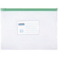 Torebka z suwakiem DONAU, PVC, A5, transparentna, Torebki, Archiwizacja dokumentów
