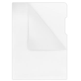 Obwoluta DONAU typu L, PP, A4, krystal, 180mikr., transparentna, Koszulki i obwoluty, Archiwizacja dokumentów