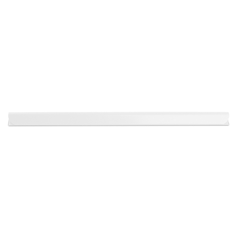 Slidebinder Clip DONAU, PVC, A4, 6mm, up to 60 sheets, white