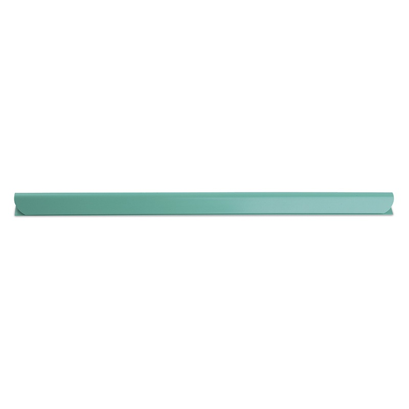 Slidebinder Clip DONAU, PVC, A4, 8mm, up to 80 sheets, green