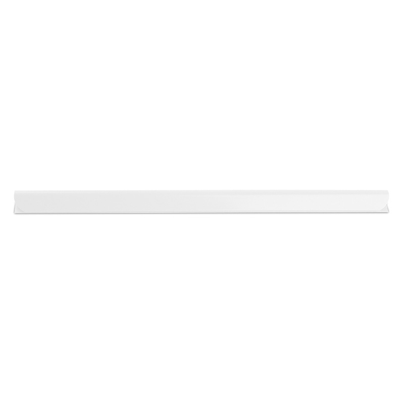 Slidebinder Clip DONAU, PVC, A4, 8mm, up to 80 sheets, white