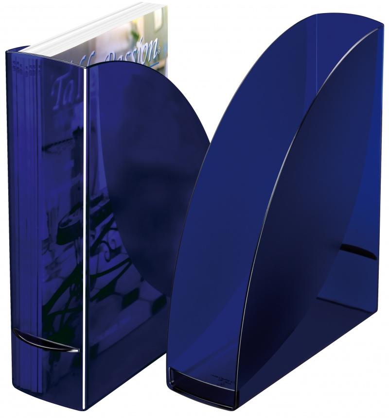 Pojemnik A4 Cep CARAT 259x82x310 szafirowy, Pojemniki na dokumenty i czasopisma, Archiwizacja dokumentów