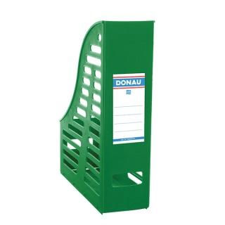 Pojemnik ażurowy na dokumenty DONAU, PP, A4, składany, zielony, Pojemniki na dokumenty i czasopisma, Archiwizacja dokumentów