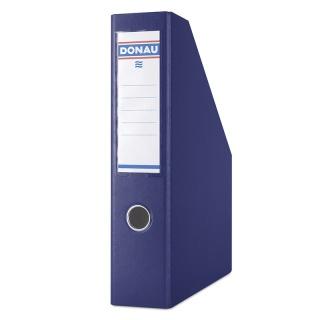 Pojemnik na dokumenty DONAU, PP, A4/75mm, granatowy, Pojemniki na dokumenty i czasopisma, Archiwizacja dokumentów