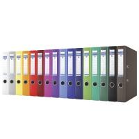 Segregator DONAU Master, PP, A4/50mm, mix kolorów, Segregatory polipropylenowe, Archiwizacja dokumentów