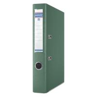 Segregator DONAU Master-S z szyną, PP, A4/50mm, zielony, Segregatory polipropylenowe, Archiwizacja dokumentów