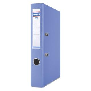 Segregator DONAU Master-S z szyną, PP, A4/50mm, niebieski, Segregatory polipropylenowe, Archiwizacja dokumentów