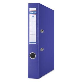 Segregator DONAU Master-S z szyną, PP, A4/50mm, ciemnoniebieski, Segregatory polipropylenowe, Archiwizacja dokumentów