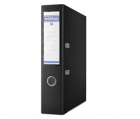Segregator DONAU Premium, PP, A4/75mm, czarny, Segregatory polipropylenowe, Archiwizacja dokumentów