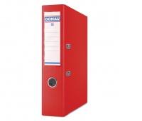 Segregator DONAU Premium, PP, A4/75mm, czerwony, Segregatory polipropylenowe, Archiwizacja dokumentów