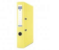 Segregator DONAU Premium-S, PP, A4/50mm, żółty, Segregatory polipropylenowe, Archiwizacja dokumentów