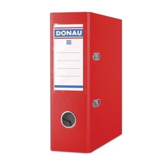 Segregator DONAU Master, PP, A5/75mm, czerwony, Segregatory polipropylenowe, Archiwizacja dokumentów
