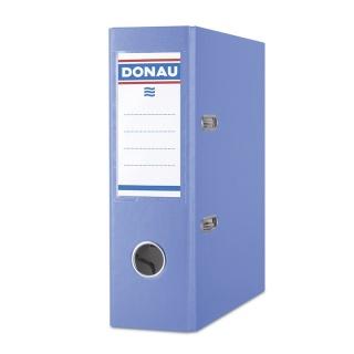 Segregator DONAU Master, PP, A5/75mm, niebieski, Segregatory polipropylenowe, Archiwizacja dokumentów