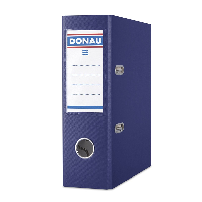Binder DONAU Master, PP, A4/75mm, navy blue