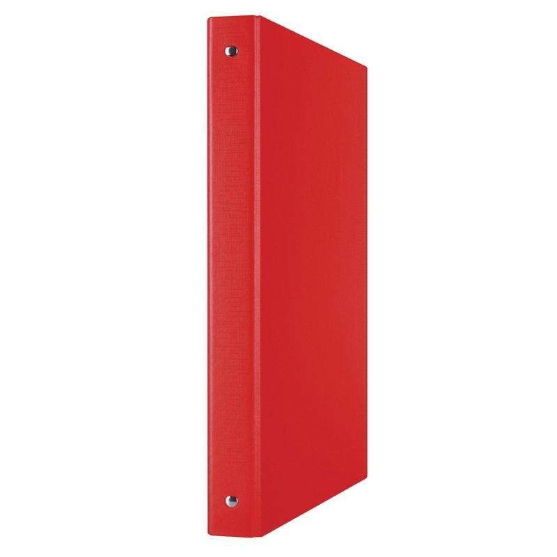 Segregator ringowy DONAU, PP, A4/4R/20mm, czerwony, Segregatory ringowe, Archiwizacja dokumentów