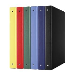 Segregator ringowy DONAU, PP, A4/4R/20mm, mix kolorów, Segregatory ringowe, Archiwizacja dokumentów