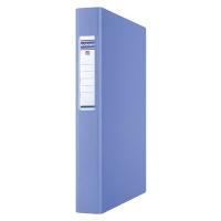Segregator ringowy DONAU, PP, A4/4R/25mm, niebieski, Segregatory ringowe, Archiwizacja dokumentów