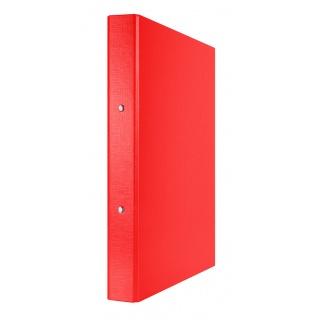 Segregator ringowy DONAU, PP, A4/2R/30mm, czerwony, Segregatory ringowe, Archiwizacja dokumentów
