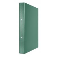 Segregator ringowy DONAU, PP, A4/2R/30mm, zielony, Segregatory ringowe, Archiwizacja dokumentów