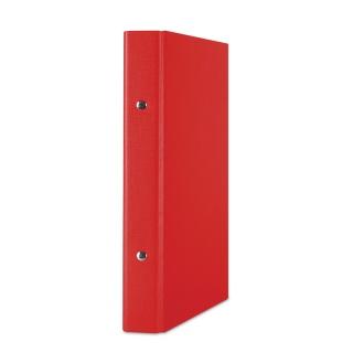 Segregator ringowy DONAU, PP, A5/2R/20mm, czerwony, Segregatory ringowe, Archiwizacja dokumentów