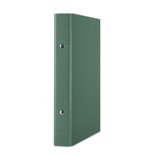 Segregator ringowy DONAU, PP, A5/2R/20mm, zielony, Segregatory ringowe, Archiwizacja dokumentów