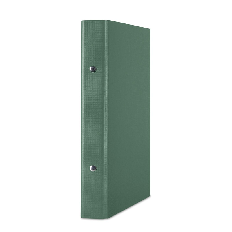 Ring Binder DONAU, PP, A5/2R/20mm, green