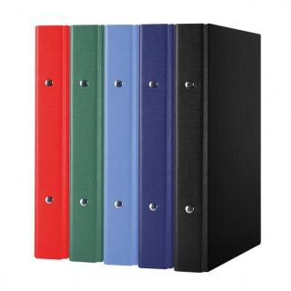 Segregator ringowy DONAU, PP, A5/2R/20mm, mix kolorów, Segregatory ringowe, Archiwizacja dokumentów