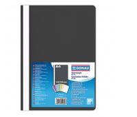 Skoroszyt DONAU, PP, A4, standard, 120/180mikr., czarny, Skoroszyty podstawowe, Archiwizacja dokumentów