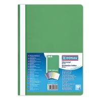 Skoroszyt DONAU, PP, A4, standard, 120/180mikr., zielony, Skoroszyty podstawowe, Archiwizacja dokumentów