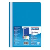 Skoroszyt DONAU, PP, A4, standard, 120/180mikr., niebieski, Skoroszyty podstawowe, Archiwizacja dokumentów