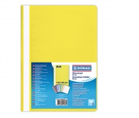 Report File DONAU, PP, A4, standard, 120/180 micron, yellow